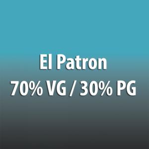 El Patron 70% VG / 30% PG