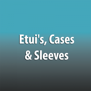 Etui's, Cases & Sleeves