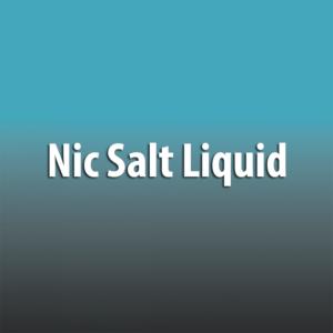 Nic Salt Liquid