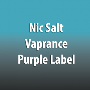 Nic Salt Vaprance Purple Label